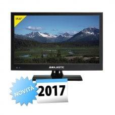 """TELEVISORE MAJESTIC 15.6"""" HD-READY TVD-215/S2 - DVB-T/T2 HD + DVB-S/S2 HD - 12/220VOLT"""