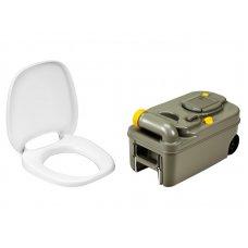 CASSETTA WC - Fresh Up Set C200 - con maniglia e ruote NEW!