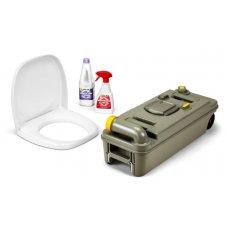 CASSETTA WC - Fresh Up Set C2/3/4 sx - con maniglia e ruote NEW