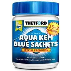 AQUA KEM BLUE 15+3 Sackets