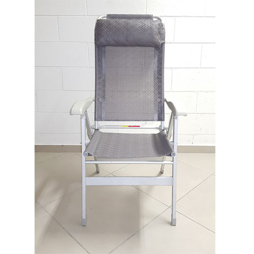 Sedia A Sdraio Alluminio.Sedia Sdraio Pieghevole In Alluminio 8 Posizioni Fc034
