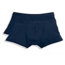2PACK SHORTY BOXER BLUE - TAGLIA XL