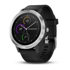 OROLOGIO - vivoactive 3, WW, Blk/Blk Silicone, Stainless Steel