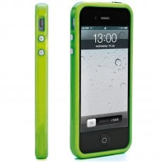 PROMO BUMPER GREEN FOR IPHONE 5/5S + SCREEN