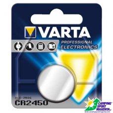 VARTA - PROFESSIONAL ELETTRONICA - CR 2450 (Litio)