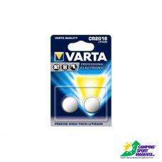 VARTA - PROFESSIONAL ELETTRONICA - CR 2016 (Litio)  DOPPIO BLISTER