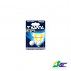 VARTA - PROFESSIONAL ELETTRONICA - CR 2032 (Litio) DOPPIO BLISTER