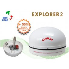ANTENNA SATELLITARE - EXPLORER2 - FULL MOTION MOBILE SAT TV