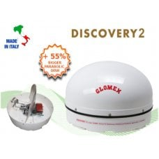 ANTENNA SATELLITARE - DISCOVERY 2 - STATIONARY MOBILE SAT TV DVBS2
