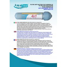 FILTRO CARBONI ATTIVI 4x1