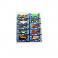 ASSORTIMENTO AUTOMEZZI ON THE ROAD 7 CM