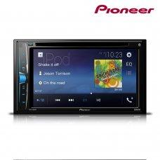Sintolettore CD/DVD schermo touch-screen 6.2', Bluetooth, USB, Aux-in, uscita vi