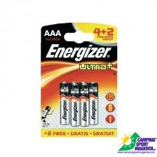 Energizer Ultra+ - Alcalina - MINISTILO AAA - 4+2 FREE