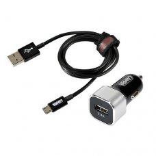 KIT RICARICA MICRO-USB CON UNIVERSAL FAST CHARGE 2400MA