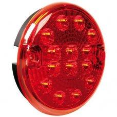 FARO RETRONEBBIA ROTONDO LED 12/24V