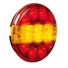 FANALE POST.ROTONDO 12/24V LED 3 FUNZIONI