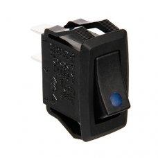 INTERRUTTORE CON LED - 12/24V - Blu