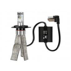LAMPADA 'HALO-LED/STRIP-COOL' H4 9-32V 20W - 8SMD - 12CHIPS C/DISSIPATORE A STRI
