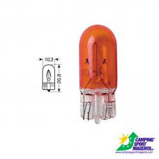 CP.LAMPADINE 12V.W2.1X9.5D 5W ARANCIONI