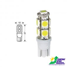 CP. LAMPADINE HYPER-MICRO-LED T10 9SMD (27CHIPS)