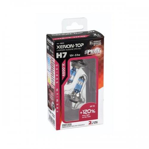 Coppia Lampade Xenon Top H7 120 12v 55w