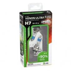 COPPIA LAMPADE XENON-ULTRA H7 +90% 12V 55W