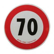 DISCO LIMITE VELOCITA 70 KM/H
