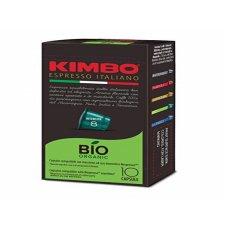 10 CAPSULE COMPATIBILI NESPRESSO - KIMBO BIO