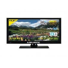 """TELEVISORE MAJESTIC 15.6"""" HD-READY TVD-215/S2 - DVB-T/T2 HD + DVB-S/S2 HD - 12/2"""