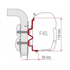 ADAPTER F45 HYMER CAMP 400
