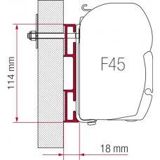 ADAPTER D 12 CM - F45