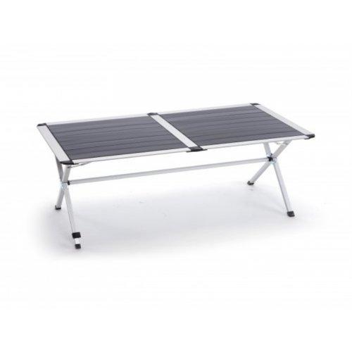 Tavolo Arrotolabile Campeggio E Outdoor.Tavolo Alluminio Arrotolabile 140x80cm H 70 Ta583l