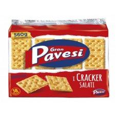 CRACKER PAVESI SALATI GR.560