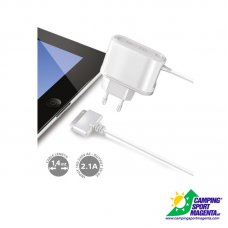 TRAVEL CHARGER 2.1A IPAD2 WHITE