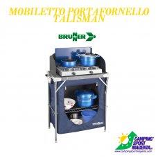 MOBILETTO PORTAFORNELLO TALISMAN - BRUNNER - 68,5x39xH80/105 cm