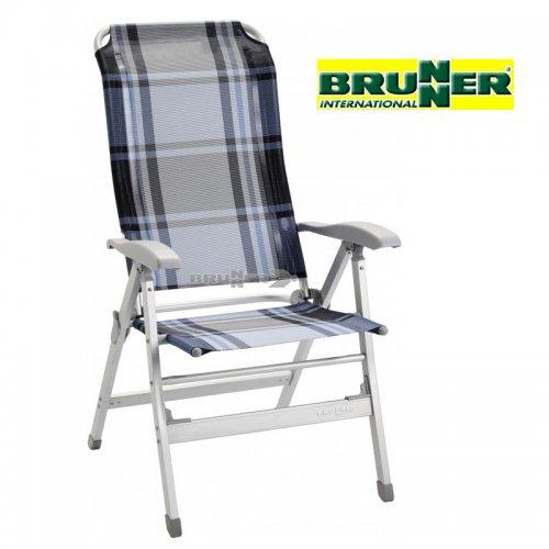 Sedia A Sdraio Pieghevole.Sedia Sdraio Pieghevole In Alluminio Tryton 8 Posizioni By Brunner
