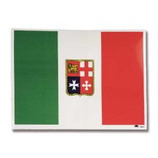 BANDIERA ITALIA ADESIVA 16X12 CM