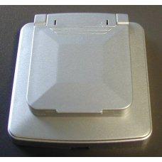 CORNICE ARGENTO 65X70MM CON COPERCHIO