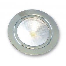SPOT TONDO 3W LED CROMATO TOUCH SWITCH - 3000K