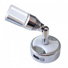 SPOT LED R.B.3-WSW 4000K+B.N+USB