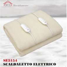 ELTRONIC SCALDALETTO ELETTRICO LANA SINTETICA MATRIMONIALE 160X140CM - SE3154