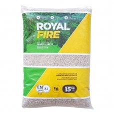 SACCO PELLET 15KG - ROYAL TOP FIRE A1