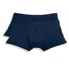 2PACK SHORTY BOXER BLUE - TAGLIA M