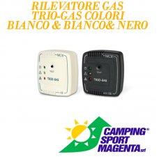RILEVATORE TRIO GAS BIANCO