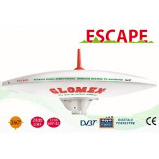 ANTENNA DIGITALE TERRESTRE ESCAPE MOBILE OMNI+VERTICAL TV ANT. 370MM 27,5DB 12-2