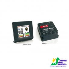 GESTORE BATTERIE - IMANAGER 12V-150A CON DISPLAY TOUCH