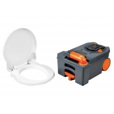 CASSETTA WC - Fresh Up Set C250/C260 - con maniglia e ruote NEW!
