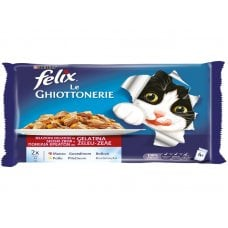 FELIX - LEGHIOTTONERIE MANZO E POLLO (4X100G)