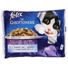 FELIX - LEGHIOTTONERIE AGNELLO E CONIGLIO(4X100G)