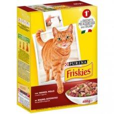 FRISKIES - CROCCHETTE Cat MANZO, POLLO E VERDURE 400g